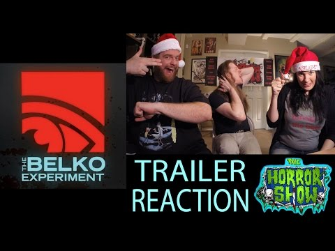 """""""The Belko Experiment"""" 2017 Trailer Reaction - The Horror Show"""