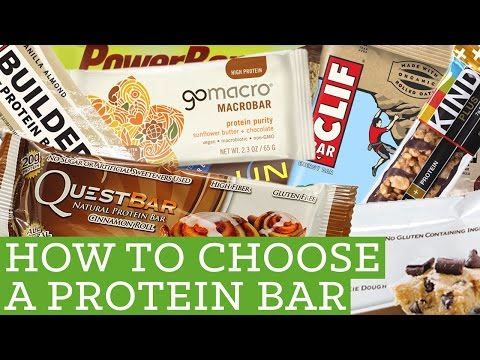 How To Choose A Protein Bar - Alyssia's Protein Bar Review -