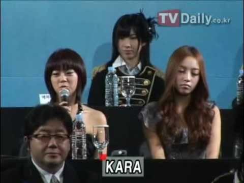 TVDaily_101022 KARA,AKB48,2AM,Joe Cheng,Bie @ Asia Song Festival Press Conference