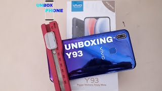 Vivo Y93 Nebula Purple Unboxing