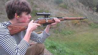 Historical shooting. SVT40, K98k, Mosin Nagant