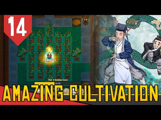Criando o GOLDEN CORE - Amazing Cultivation Simulator Immortal #14 [Série Gameplay PT-BR]