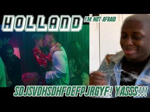 Holland - I'm Not Afraid MV REACTION: SPILT MY WATER PT.27/NO HEADPHONES ALLOWED!!! 😭😫💖