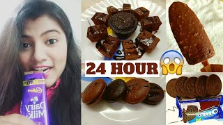 I only ate Chocolate for 24 Hours *Quarantine edition* | Food Challenge in Lockdown | Lets Try Out