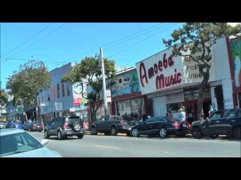 Touring Haight Street - San Francisco