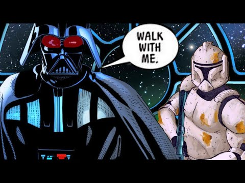 When Darth Vader Strongly Bonded with a Clone Commander - Star Wars Comics Explained