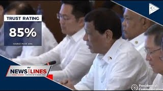 Pulse Asia: #PresidentDuterte still most approved, trusted government official