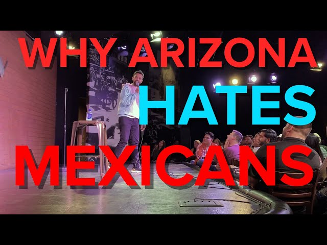 Why Arizona Hates Mexicans | Akaash Singh | Freestyle Stand-Up Comedy
