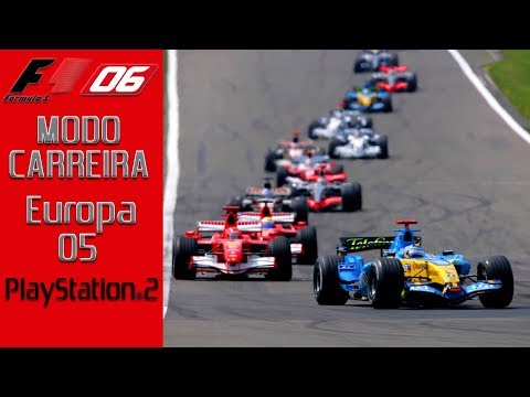 F1 2006 - PS2 - GP da Europa - CAMPEONATO MUNDIAL 05 | Jogos Clássicos