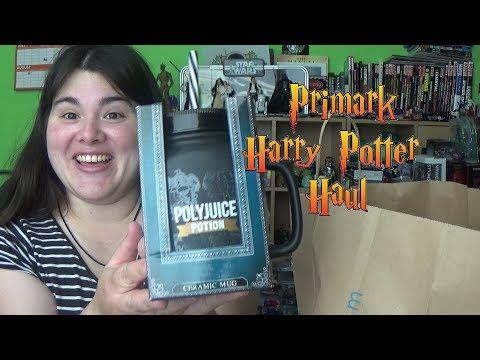 MRS SuperSorrell Shopping Vlog & Haul - Primark Harry Potter & Disney