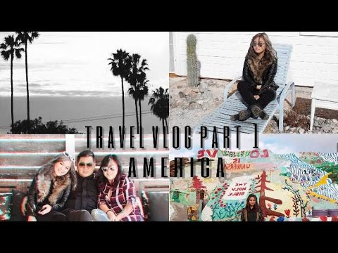 AMERICA TRAVEL VLOG PART 1