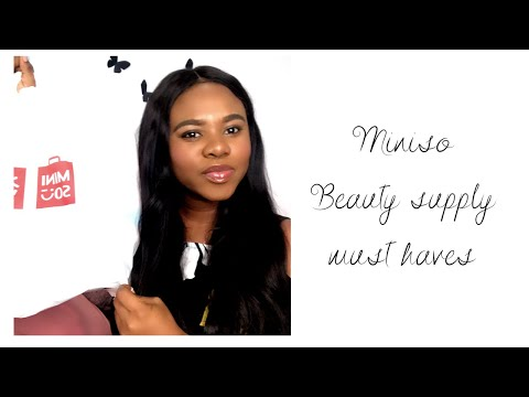 Miniso Beauty Supply Must Haves! All Below N1,000