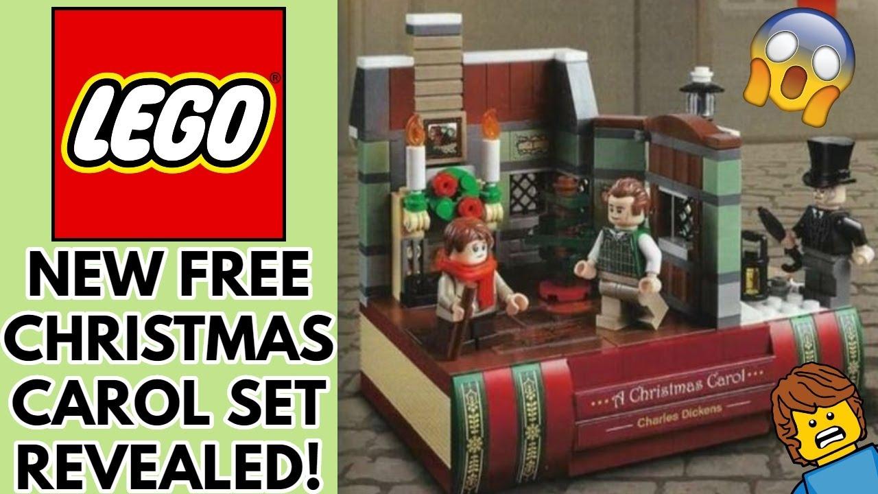 New Lego Christmas Charles Dickens A Christmas Carol 40410 Set Revealed Festive Goodness Youtube