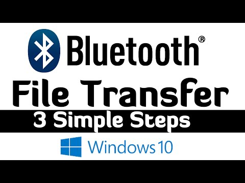 Bluetooth File Transfer in Windows 10 - 3 Easy Steps - YouTube