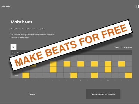Make Beats Online for Free Using Ableton