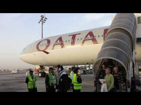 [Flight Report] QATAR AIRWAYS | Paris ✈ Doha | Airbus A340-600 | Economy