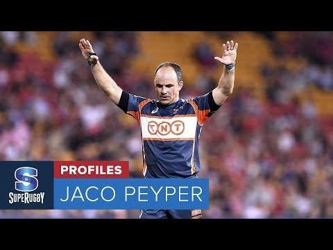 SUPER RUGBY PROFILES: Jaco Peyper