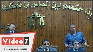 بالفيديو.. تأجيل إعادة محاكمة متهم بحرق كنيسة كفر حكيم بكرداسة لجلسة 29 يوليو