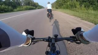 Велопробег Харьков-Львов 1200 км за 9 дней (день 1)