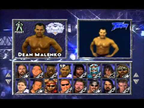 WCW/NWO Thunder (Playstation One) - Rants + Entrances