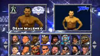 WCW/NWO Thunder (Playstation One) - Rants + Entrances