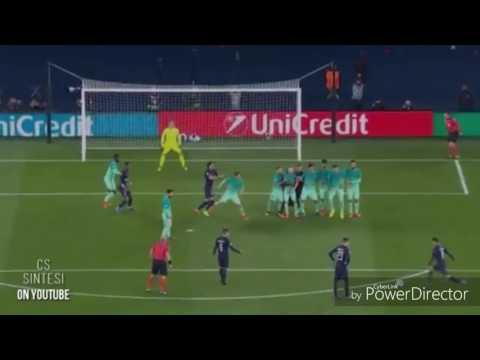 PSG-BARCELLONA 4-0! HIGHLIGHTS!