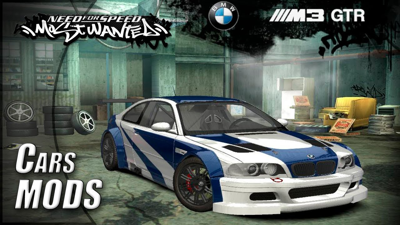 Bmw M3 Gtr Car Mods Nfs Most Wanted 2005 Youtube