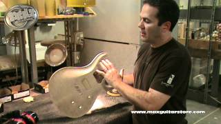 Max Guitar Store - PRS Factory Tour by Shawn Nuthall