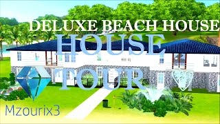 ♥ Les Sims 3 : HOUSE TOUR - Deluxe Family Beach House ♥ (FR)