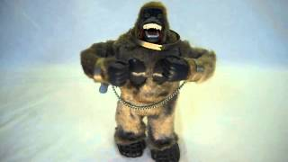 King Kong, The Mighty Kong 1960s Marx Mechanical Gorilla In Excellent  Condition