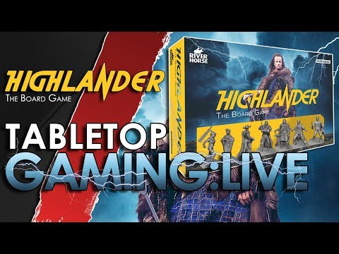 LET'S PLAY 🎲: Highlander The Board Game | 🐵🔥 |