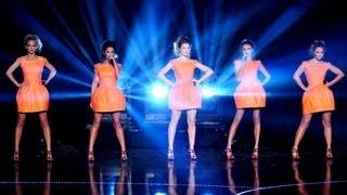 Girls Aloud perform