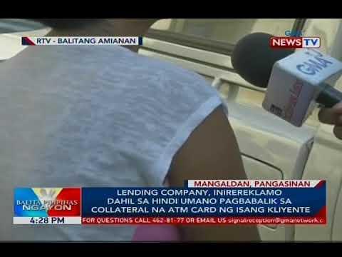 Lending company, inirereklamo