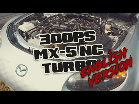 How Does A 300HP Miata Turbo Drive?