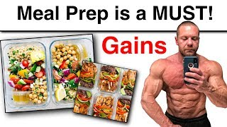 You MUST Meal Prep and Plan Ahead to Succeed!