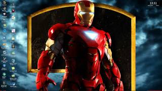 IRON MAN 2 Theme For Windows 7