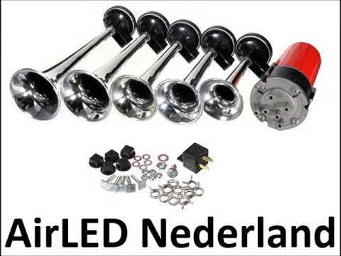 Dukes of Hazzard (Dixie) air horn (AirLED Nederland)