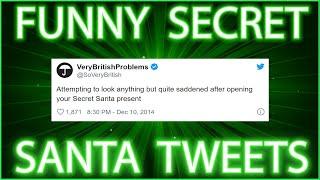 Funny Secret Santa Twitter Quotes | Hilarious Quotes