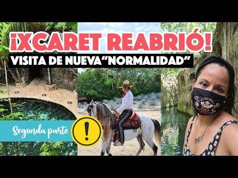 Visité  Xcaret en nueva normalidad | Reapertura del Caribe Mexicano