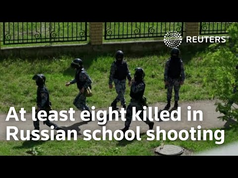 At least eight killed in Russian school shooting