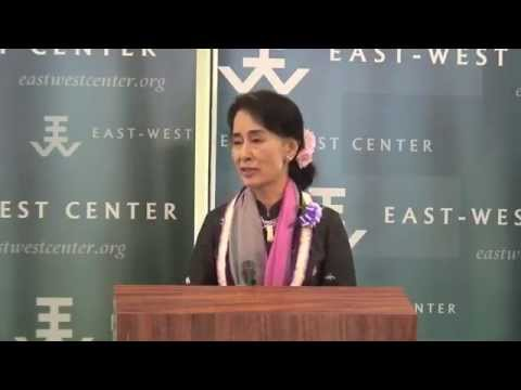 Aung San Suu Kyi Remarks at East-West Center