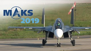 MAKS 2019 ✈️ SU-30SM DEFEATS GRAVITY!! - HD 50fps