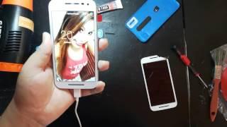 Como trocar tela (display e touch) Motorola Moto G3