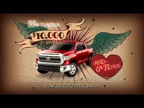 Fowler Toyota Tulsa Truck Month Tundra Offer Broken Arrow Ok