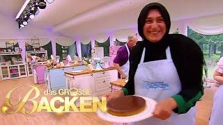 Tarte au Chocolat mit flüssigem Karamell-Kern | Aufgabe | Das große Backen 2016 | SAT.1