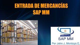 ENTRADA DE MERCANCÍAS SAP MM thumbnail