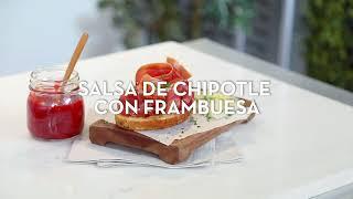 Salsa de chipotle con frambuesa. | Cocina Fácil
