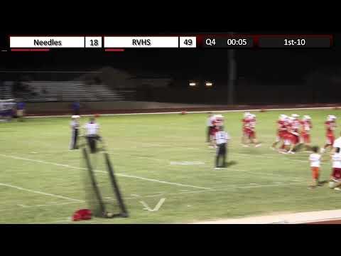 Needles High School vs River Valley Football