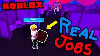 Roblox INFINITE AUTOCORRECT! - Roblox OFFICE SIMULATOR Game