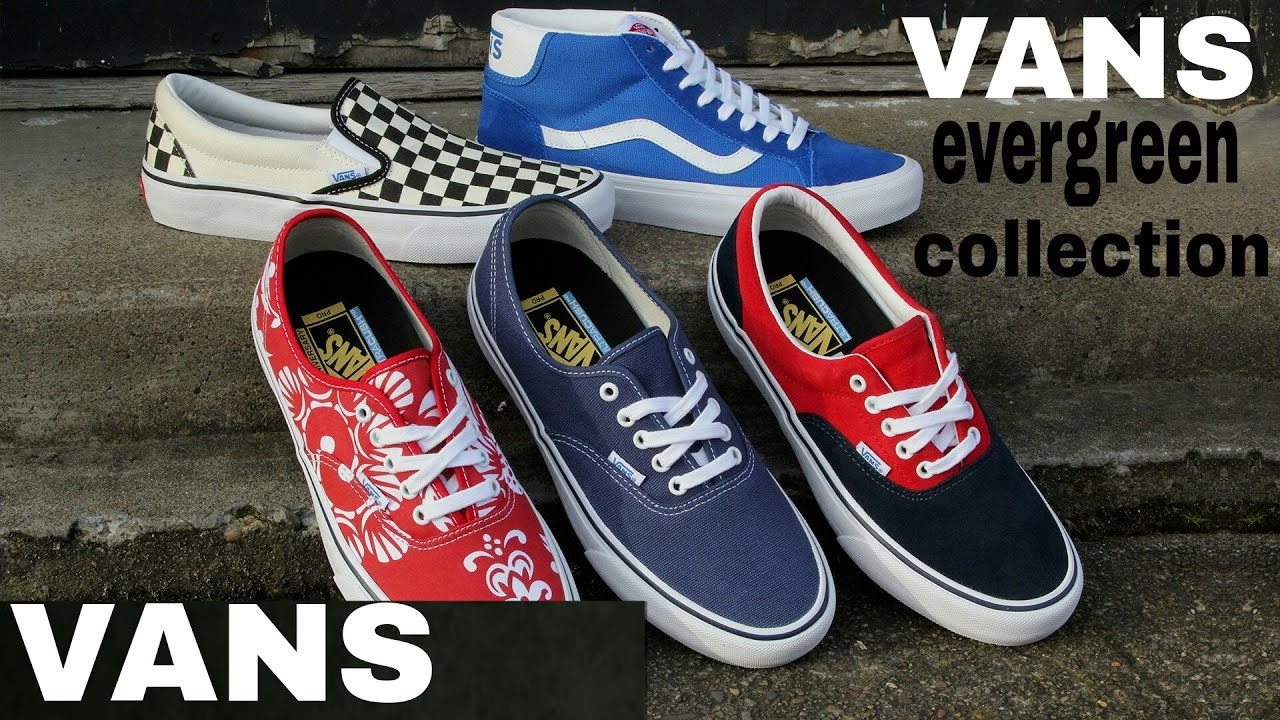 ff6c9ee774 MUST HAVE VANS SHOES COLLECTION - YouTube